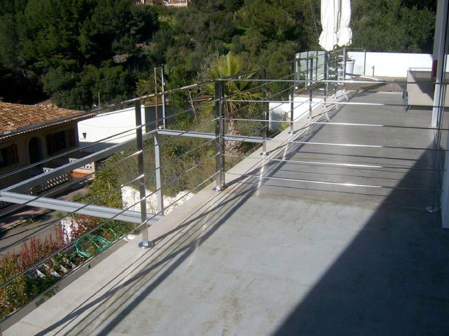 Foto barandilla en pletina de acero de javier barrilero - Pletina de acero ...