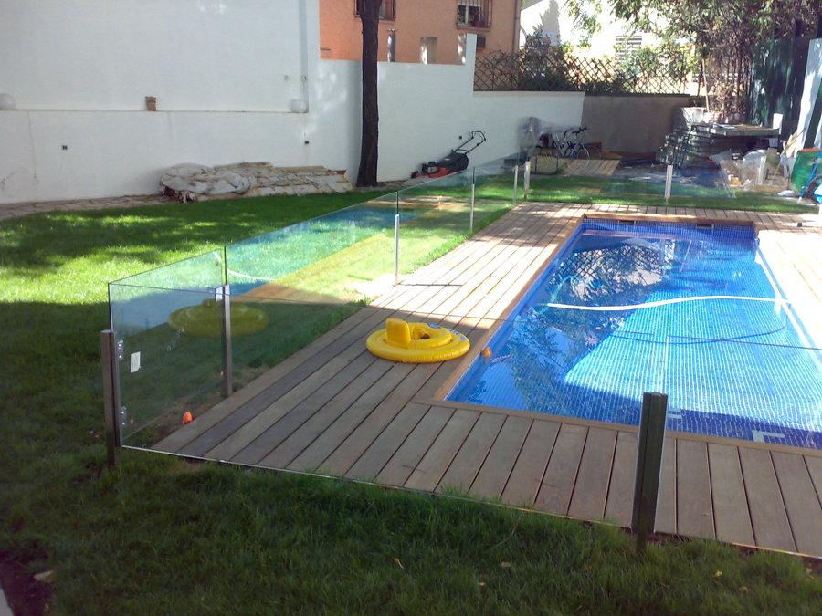 foto barandilla piscina de cristalerias la laguna 609503