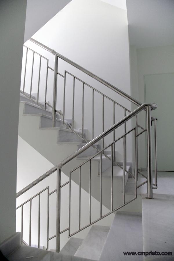 Foto barandillas de construcciones met licas prieto - Barandillas metalicas para escaleras ...