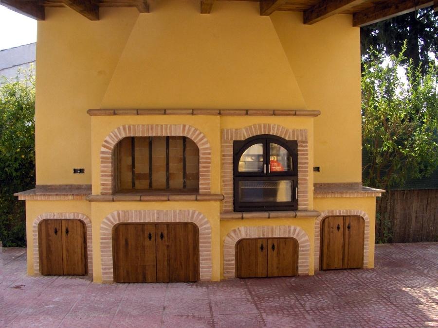 Foto barbacoa 2 de chimeneas barbacoas y decoraciones los - Chimeneas valladolid ...
