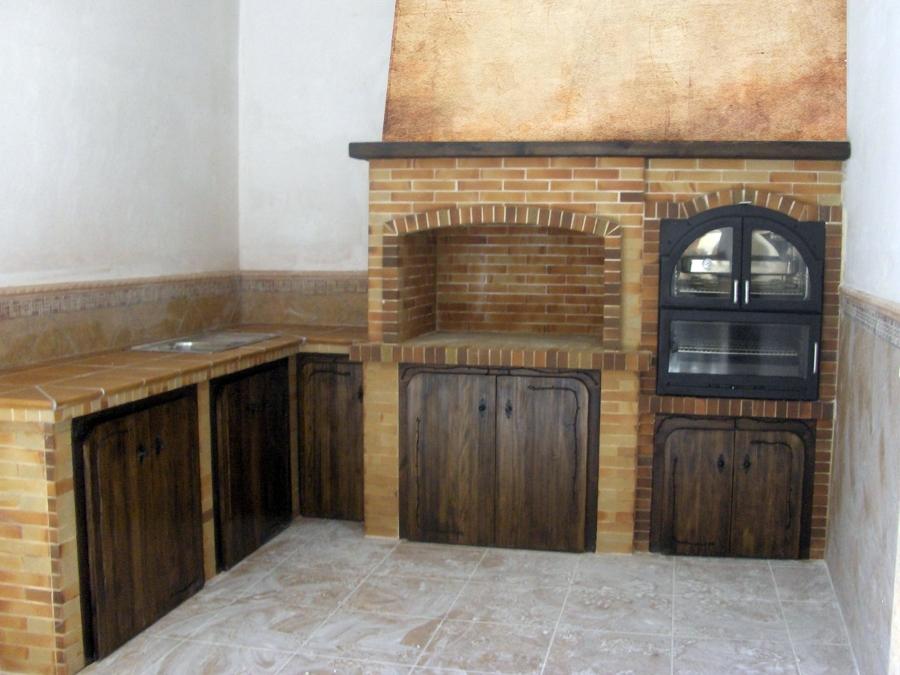 Foto barbacoa 6 de chimeneas barbacoas y decoraciones los - Chimenea para barbacoa ...