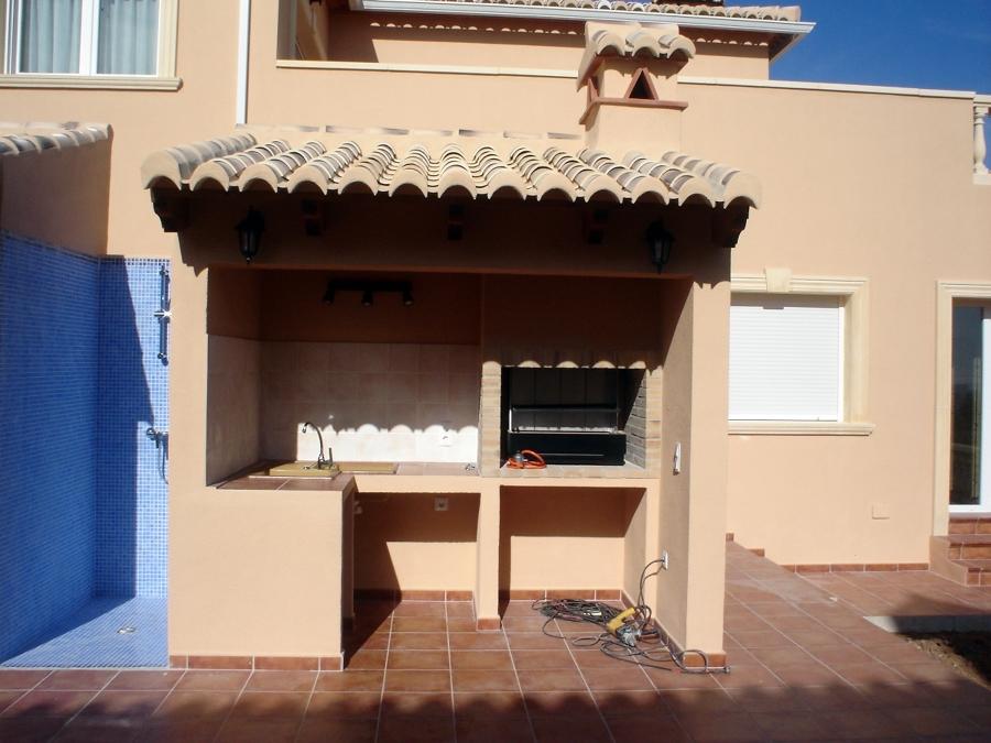 foto barbacoa con tejado de quesercons marina alta s l On tejados de madera para barbacoas