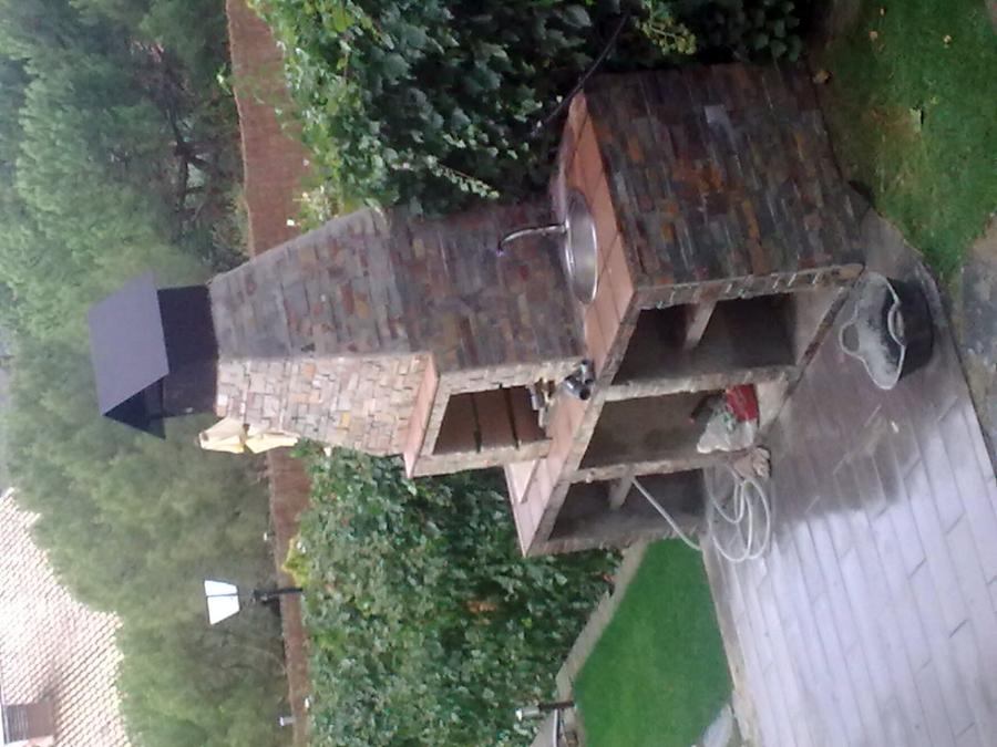 Foto barbacoa patio de construcciones y reformas sot for Piscina cubierta alcorcon