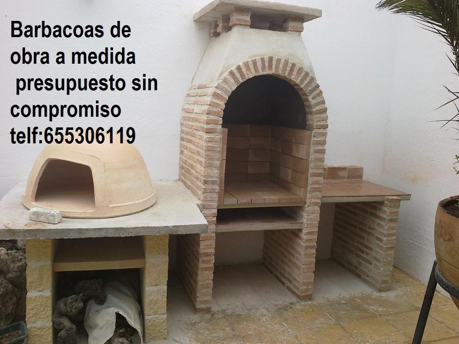 Foto barbacoas de obra a medida 655306119 de manuel - Medidas barbacoas de obra ...