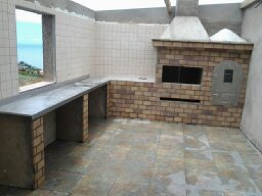 Foto barbacoas y cocinas exteriores de construcciones y for Cocinas rusticas para exteriores
