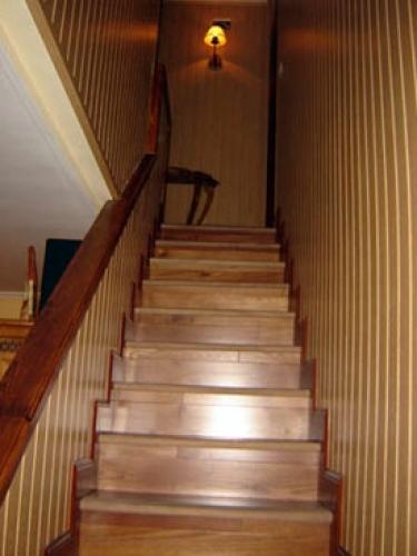 Foto barnizado de escaleras de elmanitasdebilbao 406352 for Escaleras de madera para pintor precios