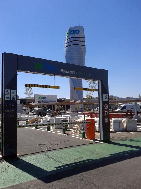 Barrera de acceso matic-port
