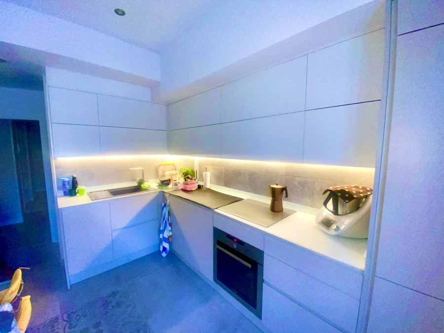 Instalación Tira LED en cocina