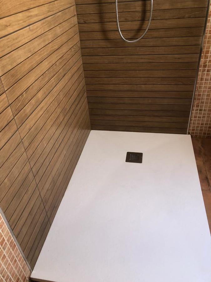 Sustitución de plato de ducha