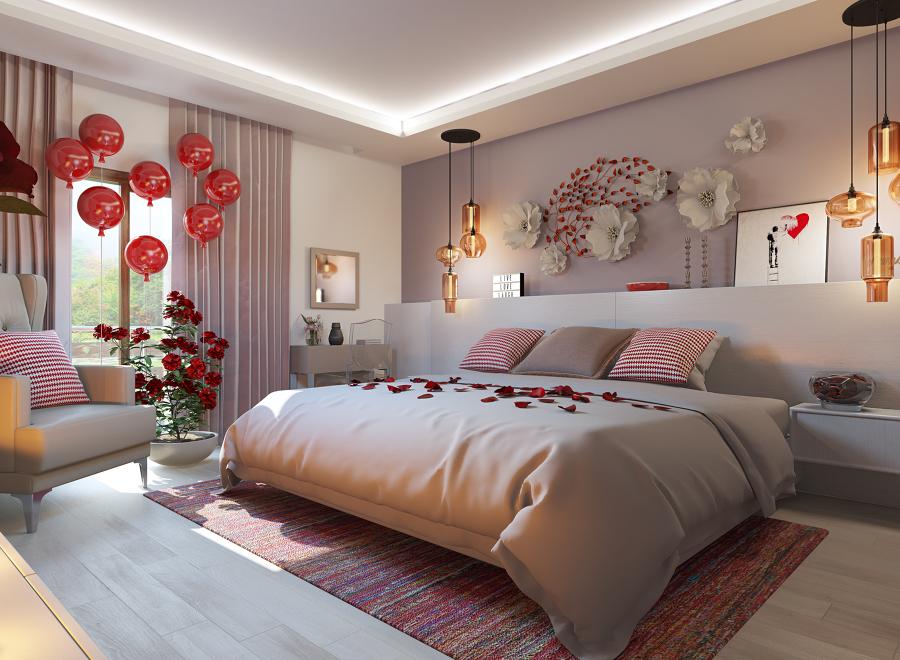 Dormitorio de San Valentín