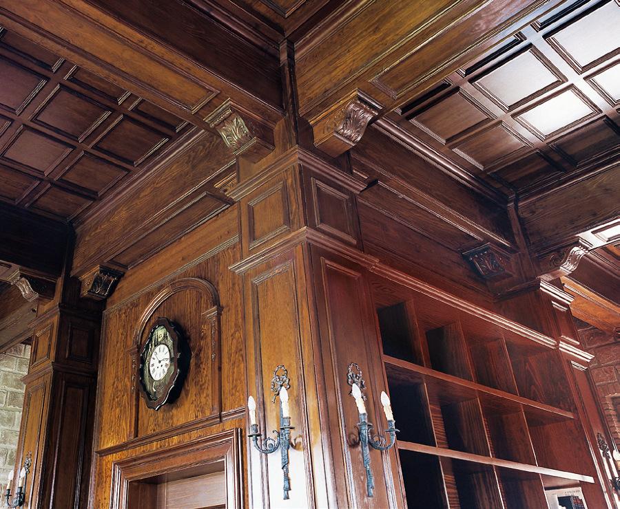 Foto biblioteca madera a medida de ebanister a arenas - Madera a medida ...