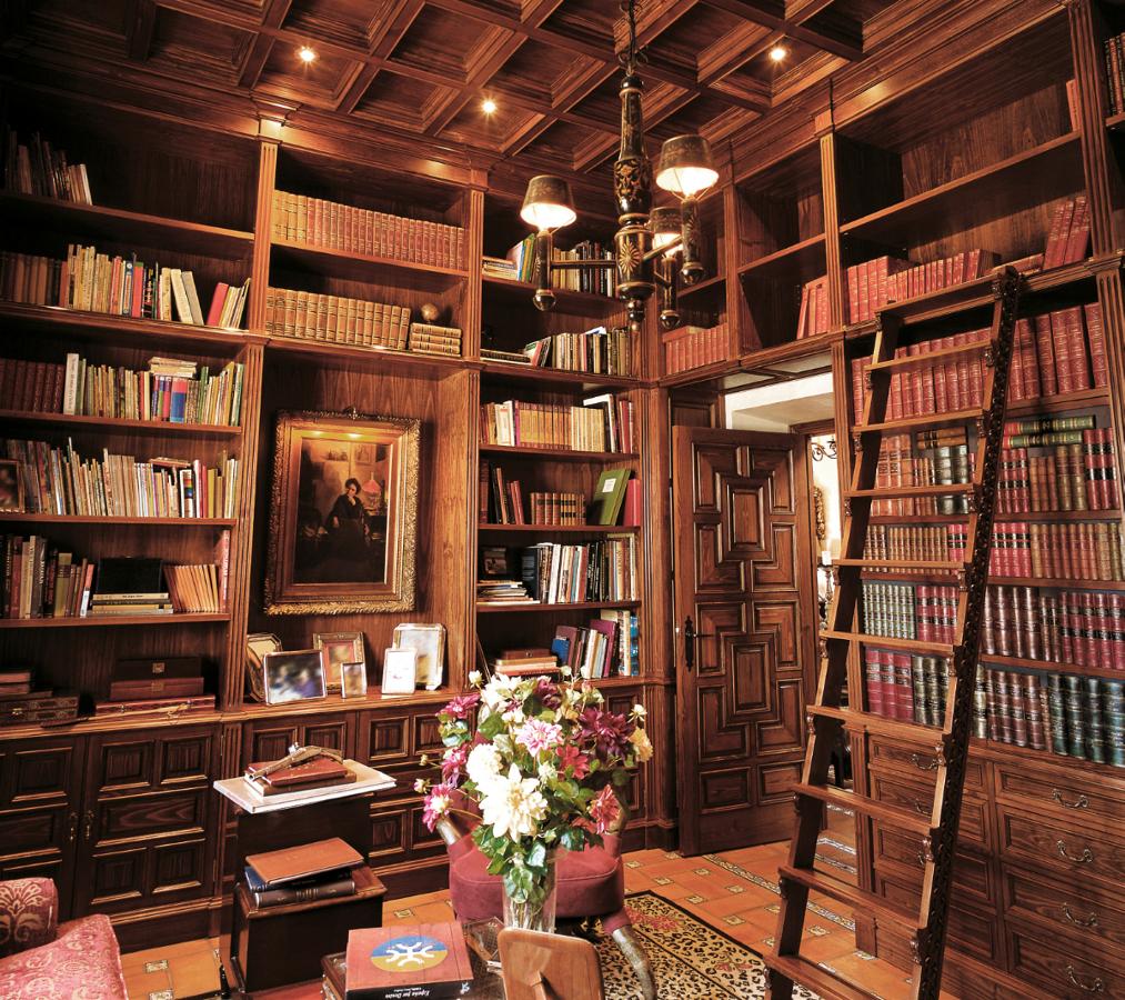 Foto biblioteca madera a medida de ebanister a arenas - Bibliotecas de madera ...