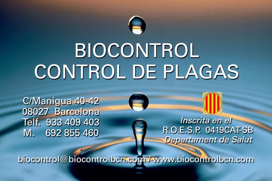 Biocontrol Control de Plagas S.L.