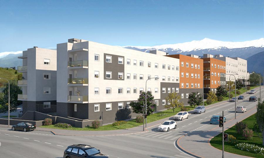 Foto bloque de viviendas plurifamiliares en otura granada de habitare arquitectura 508133 - Arquitectos en granada ...