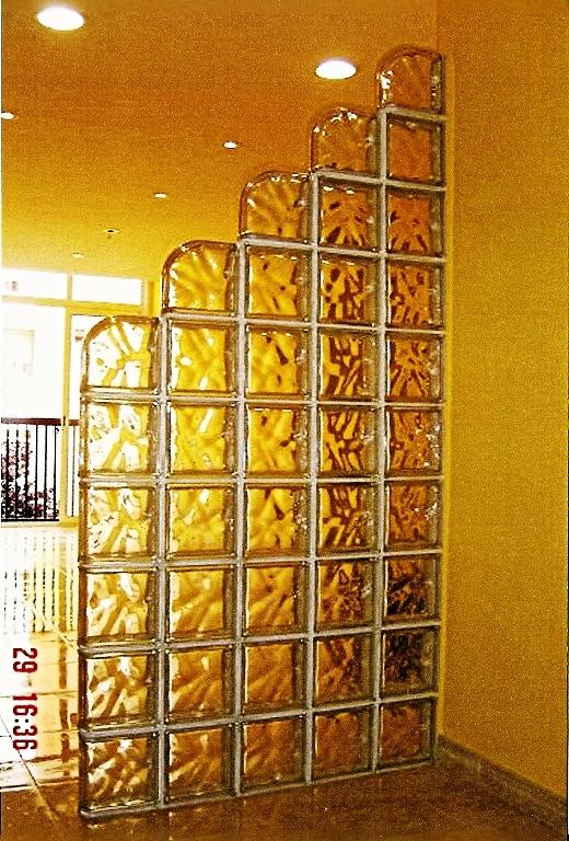 Foto bloques de cristal barcelona de reformas victoria - Cocinas con bloques de vidrio ...