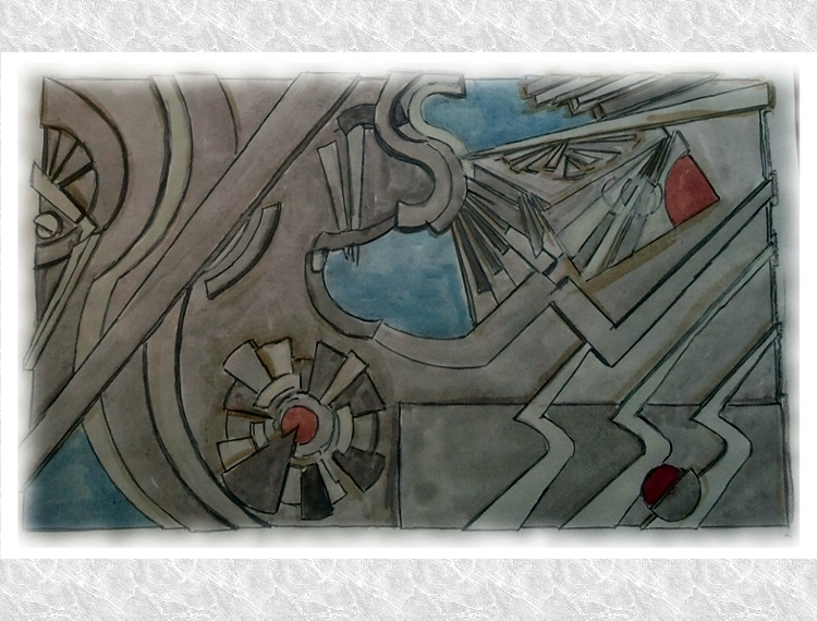 Boceto Mural