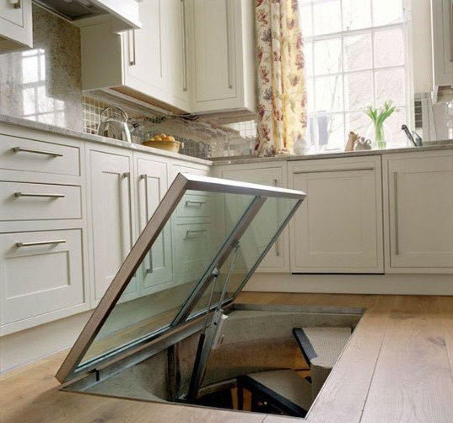 Bodega suelo de cocina