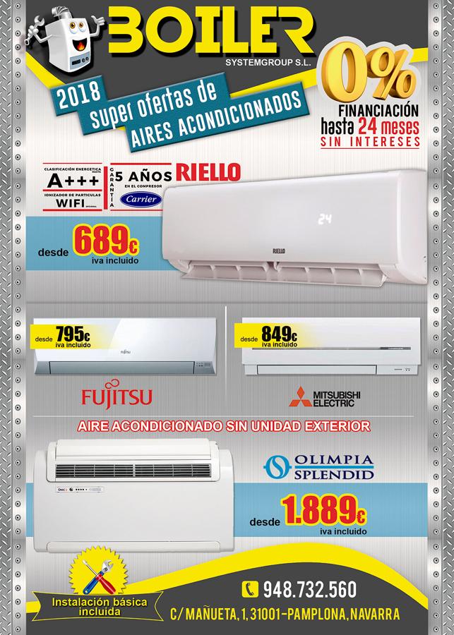 Ofertas de aire acondicionado en Pamplona