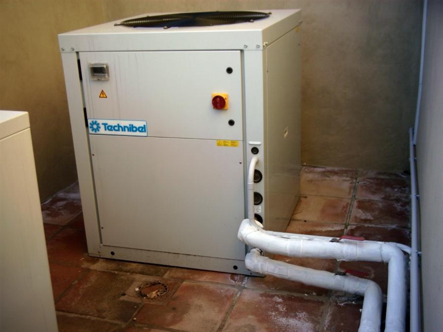 Foto bomba de calor aire agua 20kw de techniclima - Bomba de calor opiniones ...