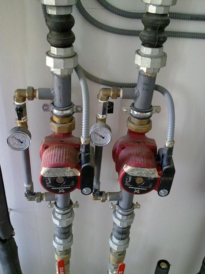 bombas de calefacción