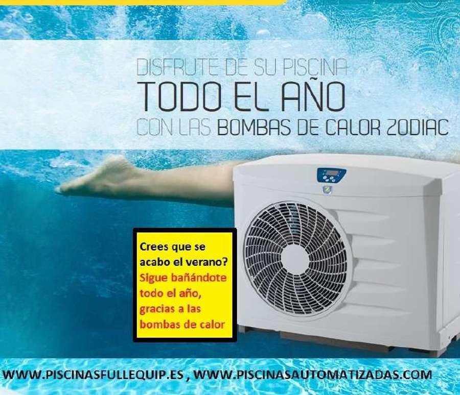 Foto bombas de calor zodiac de piscinas fullequip 669961 for Bombas de calor para piscinas zodiac