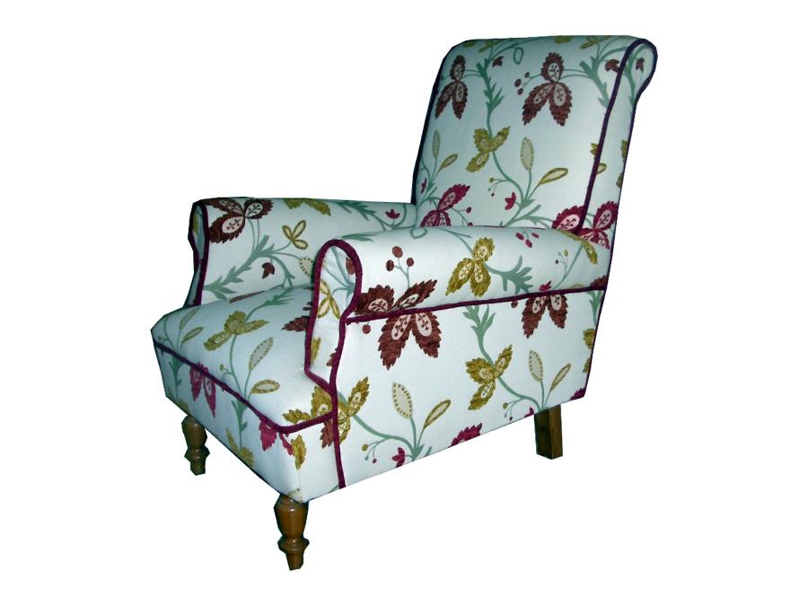 Foto butaca estampada de tapicerias mariscal 397031 - Tapicerias en sevilla ...