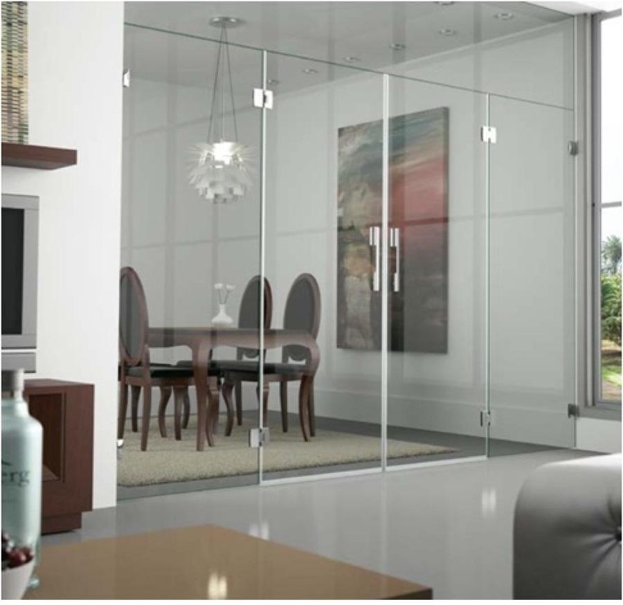 Foto cerramiento puertas vidrio correderas de cristaleria for Cerramiento vidrio