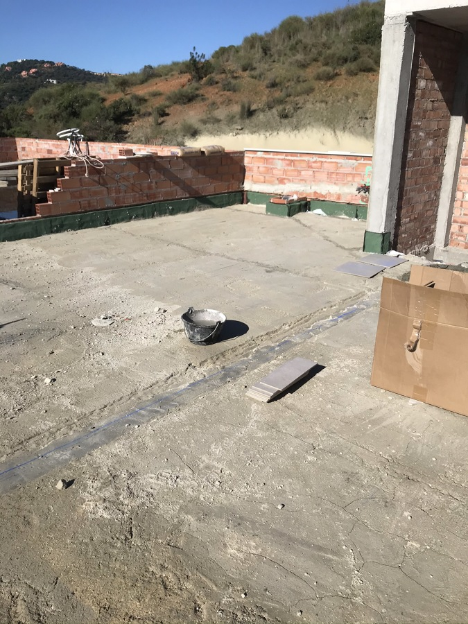 Formacion de terraza