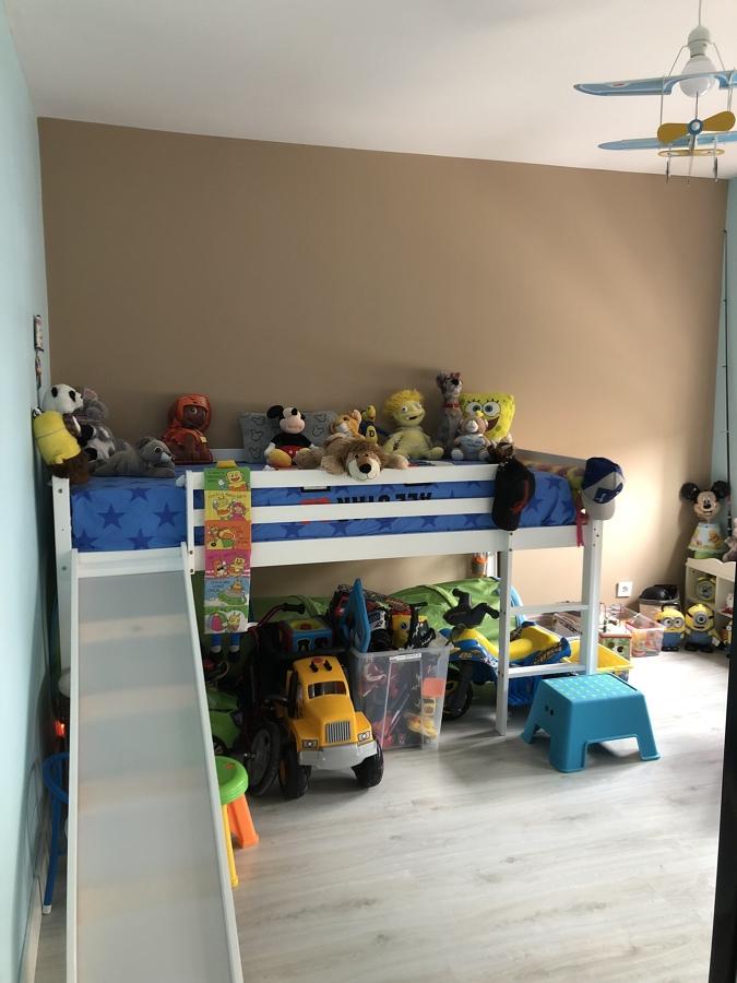 Habitacion infantil aislamiento de pared
