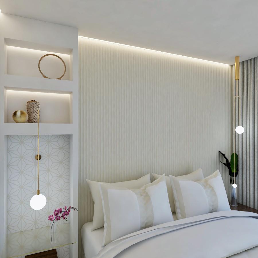 Interiorismo vivienda obra nueva en La Gomera.