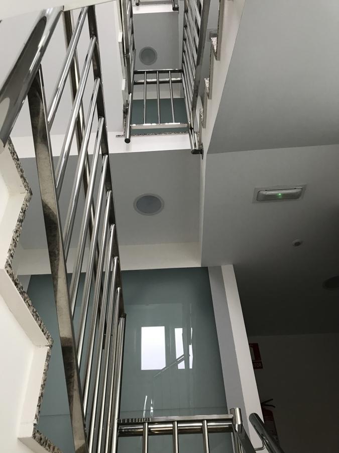 Pintado escalera