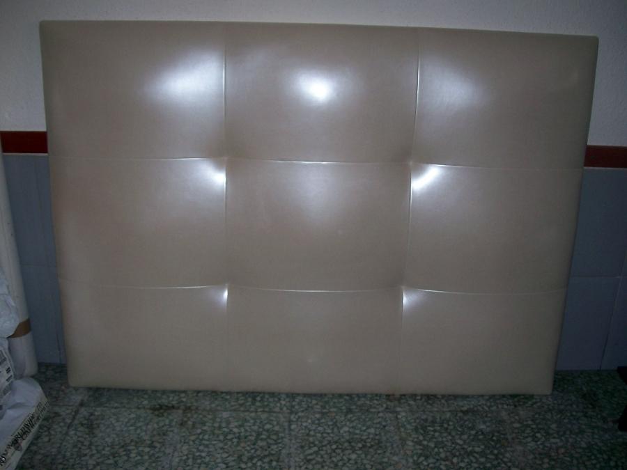 Foto cabezal cama de tapicerias jav 359737 habitissimo - Cabezal cama polipiel ...
