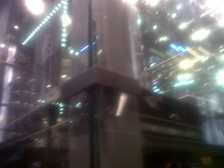 Cabina de ascensor en vidrio