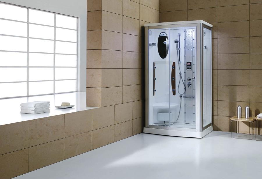 Cabina de hidromasaje con función sauna modelo AS-013