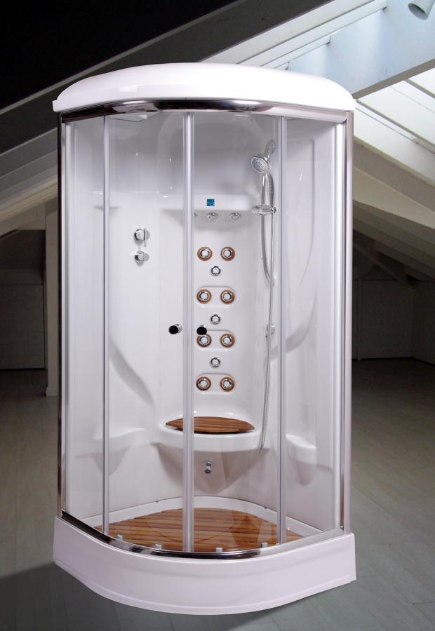 Cabinas De Ducha Hidromasaje:Foto: Cabinas Ducha, Hidromasajes, Mini-piscinas de Materials