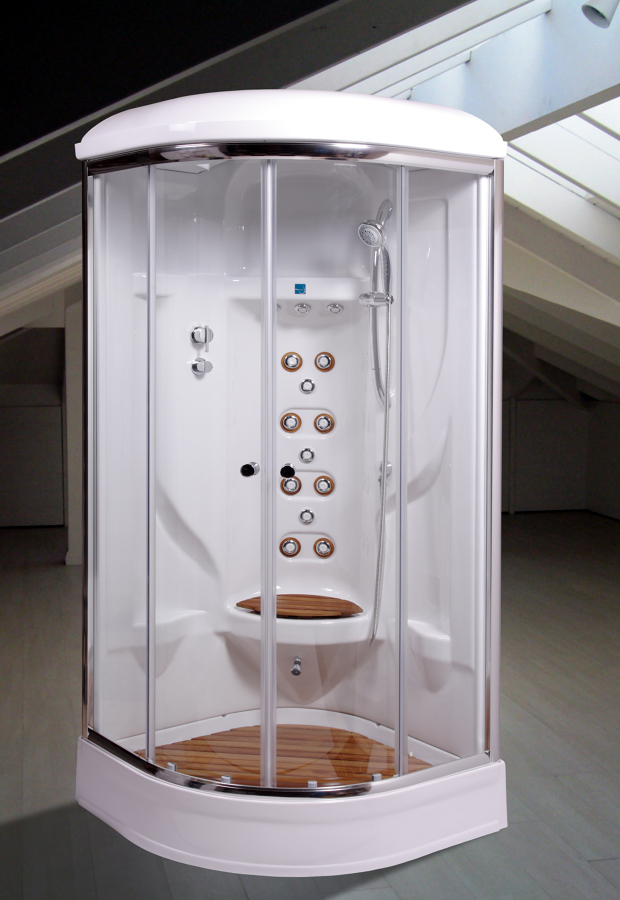 Foto cabinas ducha hidromasajes mini piscinas de for Cabina de ducha easy