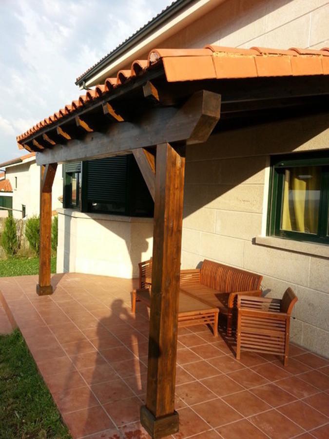 Foto antojana de solconor 1385570 habitissimo for Tejados madera segovia