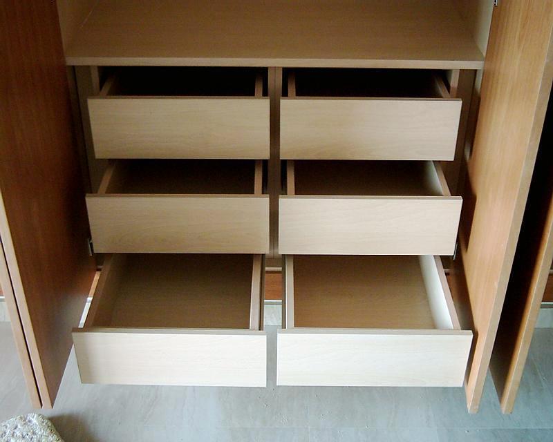 Foto cajones para armarios de carpinteria enric 199747 - Armarios con cajones ...