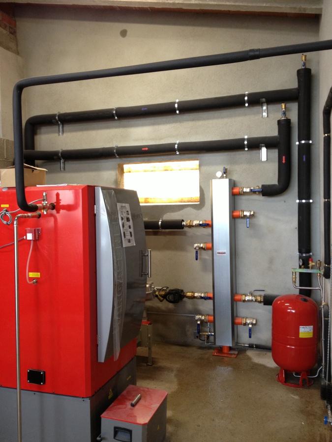 Caldera biomassa industrual