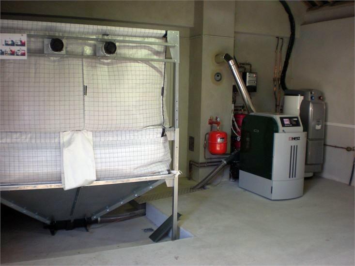 Caldera de biomasa Herz