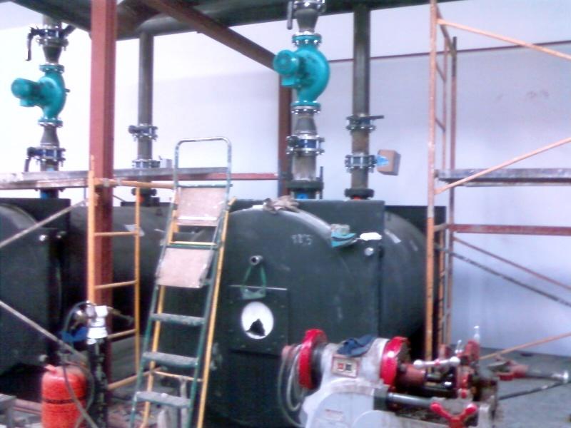 Foto caldera de calefaccion de instalaciones coron - Caldera de calefaccion ...