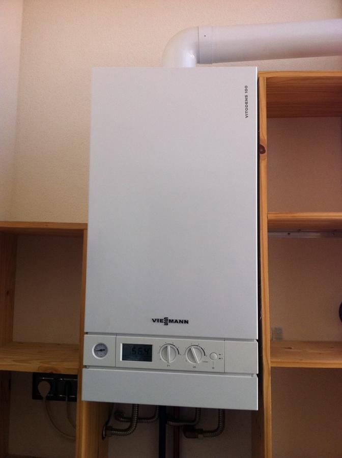 Foto caldera de condensacion para suelo radiante y acs de - Calderas para suelo radiante ...