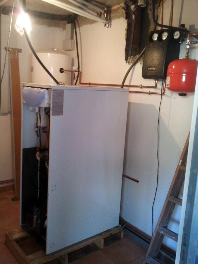Foto caldera de gasoil de i o f instalaciones y - Caldera de gasoil ...