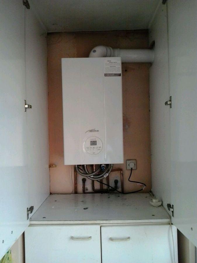 Foto caldera en armario cocina de instalador mantenedor gas larrayoz 945416 habitissimo - Armario exterior caldera gas ...