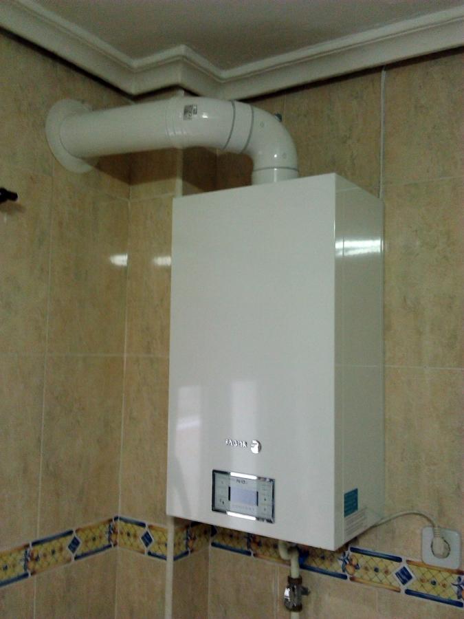 Foto caldera mural fagor bajo nox de calefacci n for Caldera mural a gas
