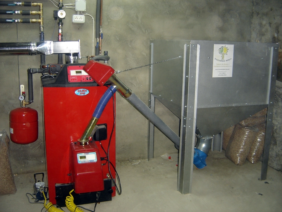 Foto caldera pellets de bioenerg a borja 214053 - Precio caldera pellets ...