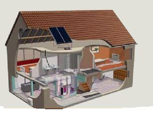 calefacción aire acondicionado y A.C.S con la misma maquina