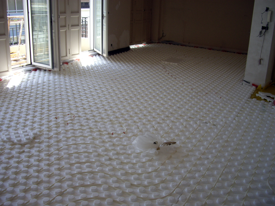 Foto calefaccion por suelo radiante de instalaciones - Calefaccion por suelo radiante precio ...