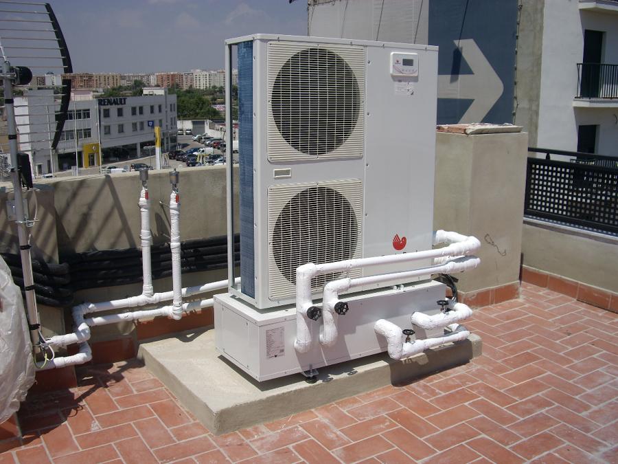 Foto calefaccion por suelo radiante refrescante de - Calefaccion radiante ...