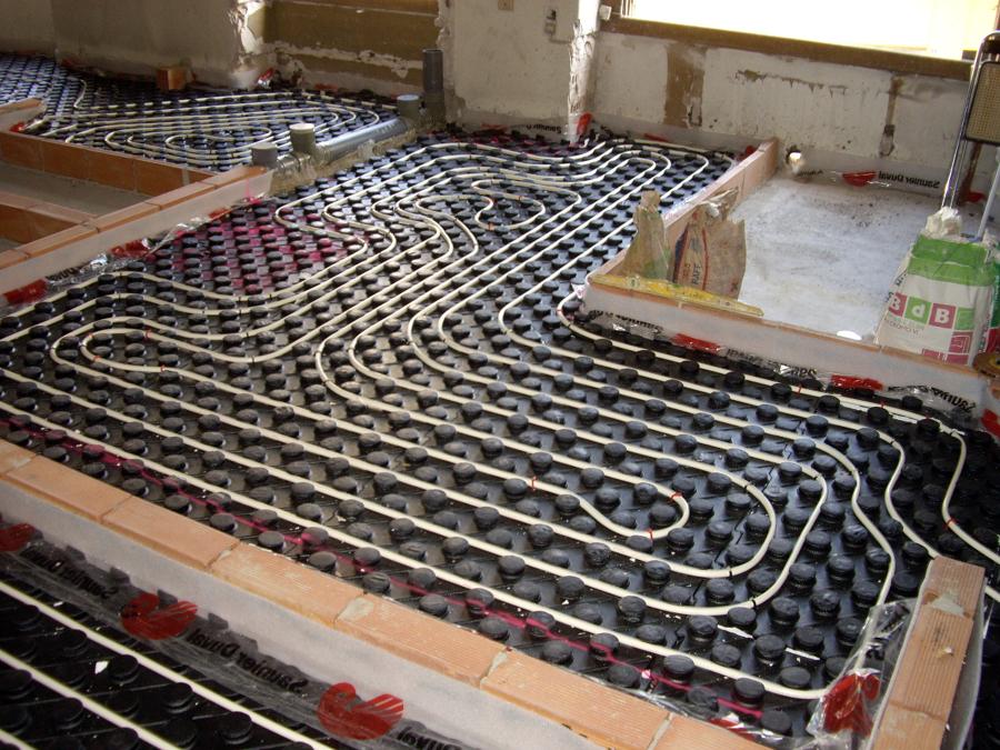 foto calefacci n por suelo radiante de instalaciones